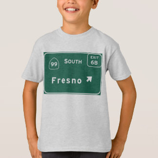 フレズノ99南州連帯カリフォルニアのハイウェー- Tシャツ