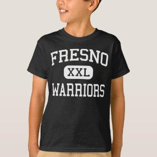 フレズノ-戦士-高フレズノカリフォルニア Tシャツ