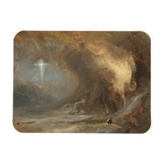 フレデリックエドウィン教会-十字の視野 マグネット