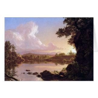 フレデリックエドウィン教会- Catskillの入り江 カード