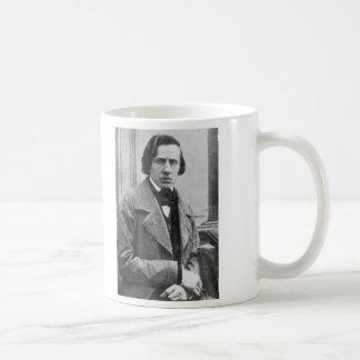 フレデリックショパンの唯一の知られていた写真 コーヒーマグカップ