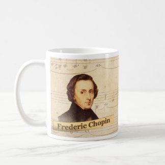 フレデリックショパンの歴史的マグ コーヒーマグカップ
