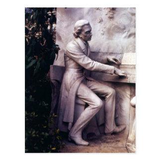 フレデリックショパンへの記念碑 ポストカード