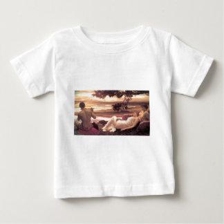 フレデリックLeighton著作の牧歌 ベビーTシャツ