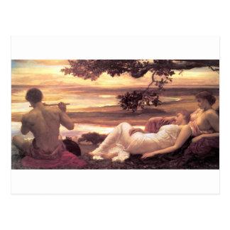 フレデリックLeighton著作の牧歌 ポストカード