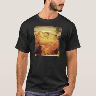 フレデリックLeighton著6月を炎にあてること Tシャツ
