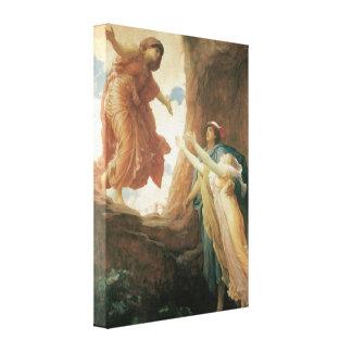 フレデリックLeighton著Persephoneのリターン キャンバスプリント