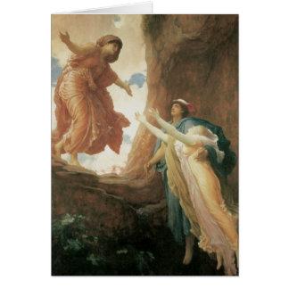 フレデリックLeighton著Persephoneのリターン グリーティングカード