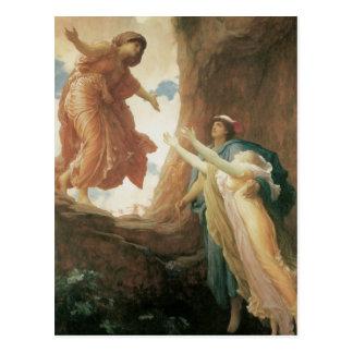フレデリックLeighton著Persephoneのリターン ポストカード