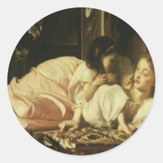 フレデリックLeighton Mother主及び子供の母の日 ラウンドシール