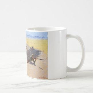 フレデリックRemington著水たまりのための戦い コーヒーマグカップ