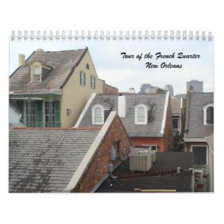 フレンチクォーター- 2010カレンダーの旅行 カレンダー