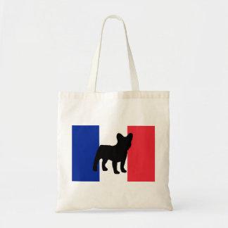 フレンチ・ブルドッグのサイロフランスflag.png トートバッグ