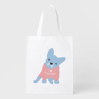 フレンチ・ブルドッグのバッグ エコバッグ