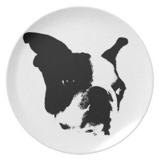 フレンチ・ブルドッグのプレート お皿