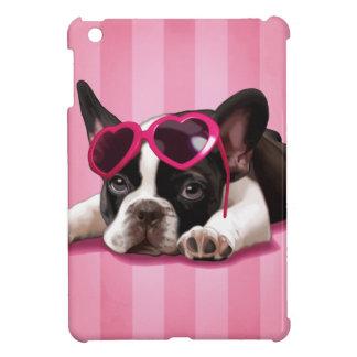 フレンチ・ブルドッグの子犬 iPad MINIケース