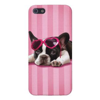 フレンチ・ブルドッグの子犬 iPhone SE/5/5sケース