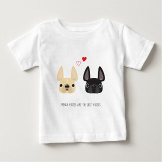 フレンチ・ブルドッグの服装 ベビーTシャツ