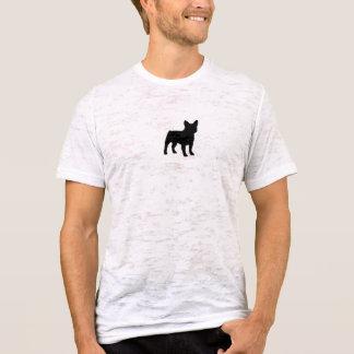 フレンチ・ブルドッグの焼損のTシャツ(合う) Tシャツ