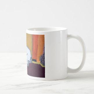フレンチ・ブルドッグのFauveの絵画 コーヒーマグカップ