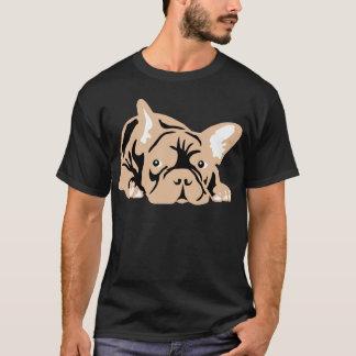フレンチ・ブルドッグは上がりました Tシャツ