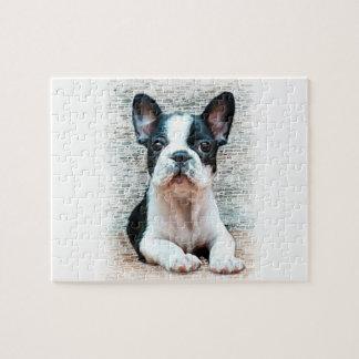 フレンチ・ブルドッグ犬 ジグソーパズル