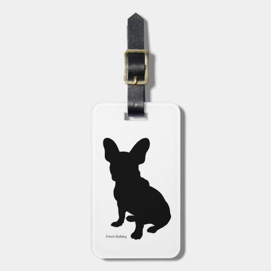 フレンチ・ブルドッグ ラゲージタグ french bulldog Luggage tag