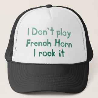 フレンチ・ホルンの石それ帽子 キャップ