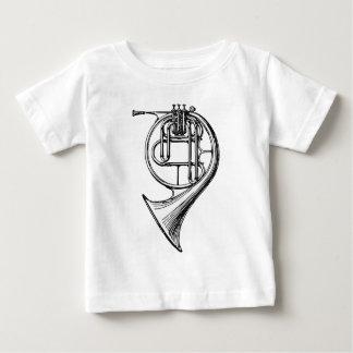 フレンチ・ホルン ベビーTシャツ