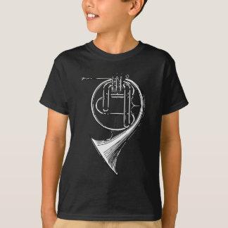 フレンチ・ホルン Tシャツ