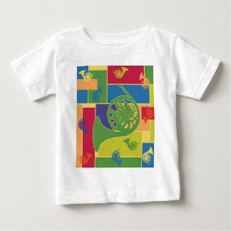 フレンチ・ホルンColorblocks ベビーTシャツ