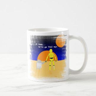フレンドリーなアンドロイド コーヒーマグカップ