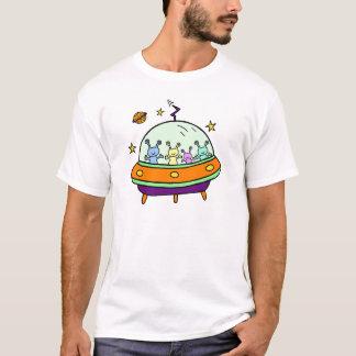 フレンドリーなエイリアン Tシャツ