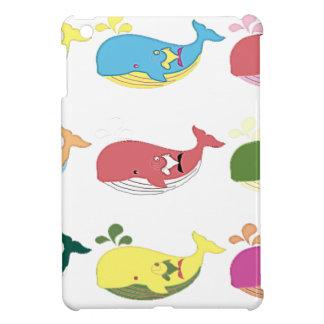 フレンドリーなクジラ iPad MINIカバー