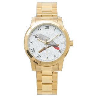 フレンドリーなコンゴのアフリカ灰色のオウムの腕時計 腕時計