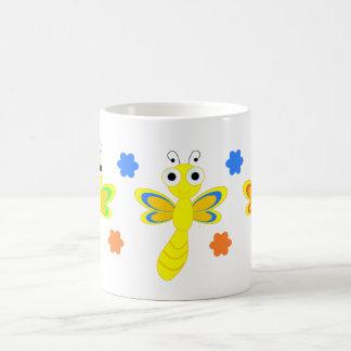 フレンドリーなトンボ コーヒーマグカップ