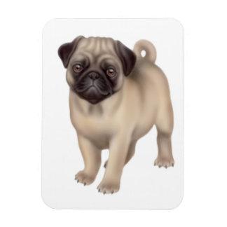 フレンドリーなパグ犬の報酬の磁石 マグネット