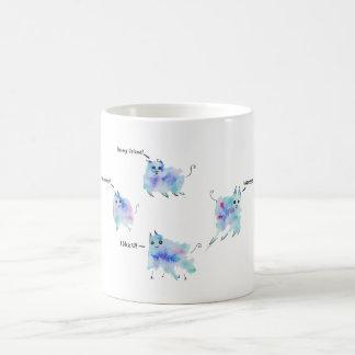 フレンドリーな創造物 コーヒーマグカップ
