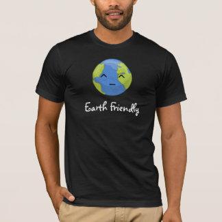 フレンドリーな地球 Tシャツ