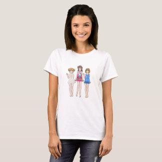 フレンドリーな女の子 Tシャツ