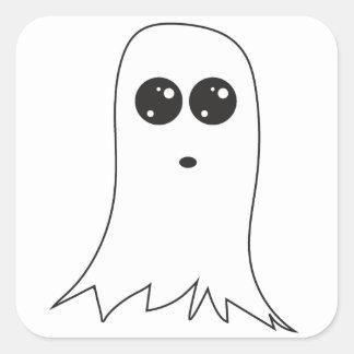 フレンドリーな幽霊 スクエアシール
