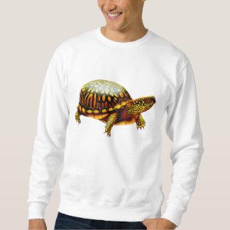 フレンドリーな東のアメリカハコガメのスエットシャツ スウェットシャツ