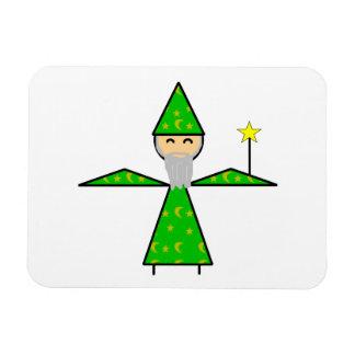 フレンドリーな緑の棒の魔法使い マグネット