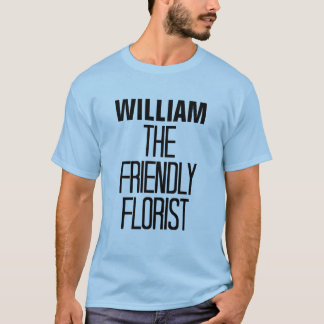 フレンドリーな花屋 Tシャツ