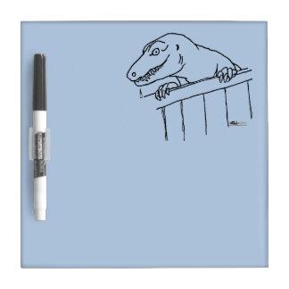 フレンドリーな近隣の恐竜 ホワイトボード