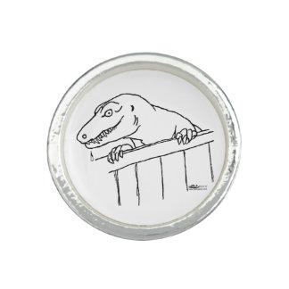 フレンドリーな近隣の恐竜 リング
