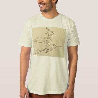 フレンドリーな魔法使いのスケッチのワイシャツ Tシャツ