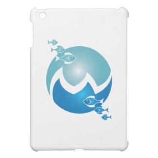 フレンドリーな魚 iPad MINIケース