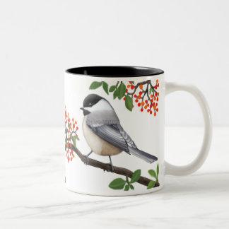 フレンドリーな《鳥》アメリカゴガラの鳥のマグ ツートーンマグカップ