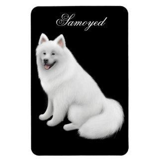 フレンドリーなSamoyed犬の報酬の磁石 マグネット